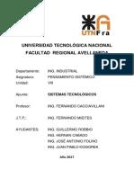 Sistemas Tecnológicos -2017