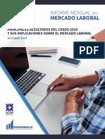 ENTORNO ECONOMICO-PRINCIPALES RESULTADOS DEL CENSO 2018 Y SUS IMPLICACIONES SOBRE EL MERCADO LABORAL (1)
