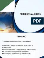 PRIM AUX MOD 6 Lesiones osteomusculares