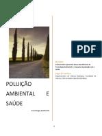 Aula 3 - Poluição ambiental e de saúde