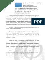 LA FUNCIÓN DEL YO- PROCESOS DEL PENSAMIENTO EN POBLACIÓN RECLUSA Y NO RECLUSA, ANALIZADA A TRAVÉS DEL MÉTODO EFY DE L. BELLAK