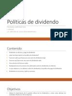 I Unidad - Política de Dividendo