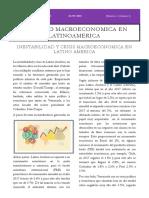 ARTICULO INESTABILIDAD Y CRISIS MACROECONOMICA