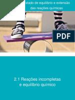 2.1 Reações incompletas , extensão das reações químicas.pdf