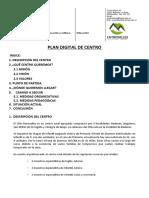 Plan Digital de Centro Del CRA Entrevalles