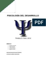 PSICOLOGÍA DEL DESARROLLO - TRABAJO FINAL TERMINADO