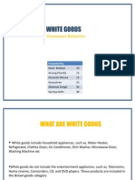 Economics White Goods Presentation