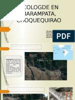 ECOLOGDE EN MARAMPATA-CHOQUEQUIRAO