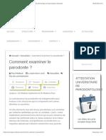 Comment examiner le parodonte ? - Gepi Mattout - Parodontologie et Implantologie à Marseille.pdf