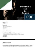 Discriminaçao de Genero