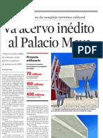 Va acervo inédito a Palacio maya