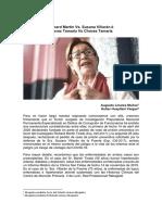 ¿Richard Martin Vs Susana Villaran? ó ¿Chavez Tamariz Vs Chavez Tamariz?