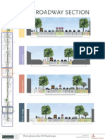 DC Great Street Pennsylvania Avenue SE - Roadway Section