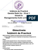 GRH si MAS - Nivel 1 - Intilnire de Practica  - Prezentare