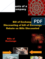 (3) Rebate on bills discounted