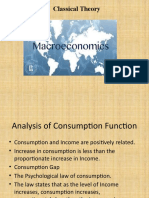Consumption Function (1)