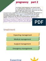 ectopic pregnancy part 2