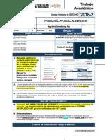 PSICOLOGÍA APLICADA AL DERECHO - TRAIN