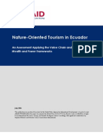 Ecuador Nature Oriented Tourism FRAME AMAP Assessment[1]