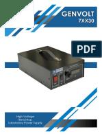 7XX30 Product Brochure
