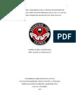 Materialización y desarrollo de la figura de extensión de jurisprudencia de unificación incorporada en lal ley 1437 de 2011 por parte del consejo de estado en los años 2016-2017