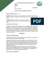 EL PAPEL DE LA FE EN EL CRECIMIENTO ESPIRITUAL - ANEXO 9