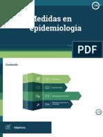 medidas en epidemiologia