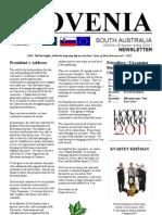 Slovenia Newsletter Dec2010