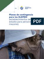 Planes de contingencia para residenciales