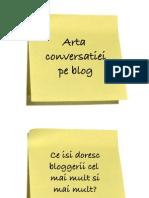 Arta Conversatiei pe Blog