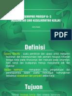 Penerapan Prinsip K3 Pembibitan