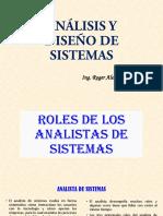 01.1 ROLES DE LOS ANALISTAS DE SISTEMAS
