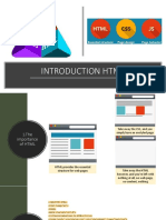 Introduction HTML5 - Semaine1