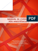 Manual Cuidados Pós-Anestésicos II