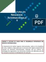 Presentación Unidad III-A La cultura en negocios internacionales