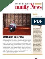 January 2011 Community News