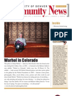 January 2011 Community News