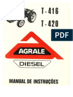 Manual Proprietário Trator 416 e 420-1