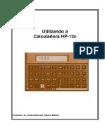 Apostila matemática financeira  HP-12C