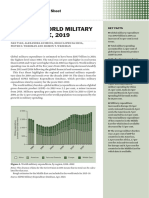 SIPRI - TRENDS IN WORLD MILITARY EXPENDITURE, 2019