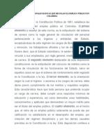 Reglas Constitucionales Básicas Que Regulan El Empleo Público en Colombia