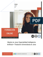 Master Java Inteligencia Artificial
