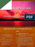 EXPOSICION AL SOL