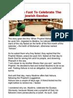 Muslims Fast to Celebrate the Jewish Exodus