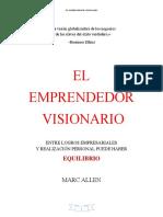 LIBRO EL EMPRENDEDOR VISIONARIO