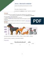 2.5 Varianza y desviación estándar