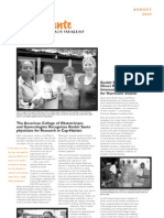 Konbit Sante August 2009 Newsletter