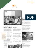 Konbit Sante September 2008 Newsletter