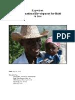 Transformational Development in Haiti