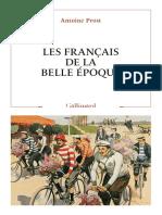 Les Français de la Belle Époque